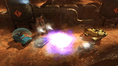 Red Faction Battlegrounds Screens
