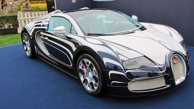 The Bugatti L'Or Blanc is the world's most delicate supercar