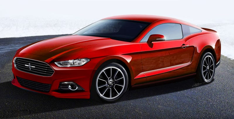Updated 2014.5 Mustang render from existing Jalopnik render already in use.