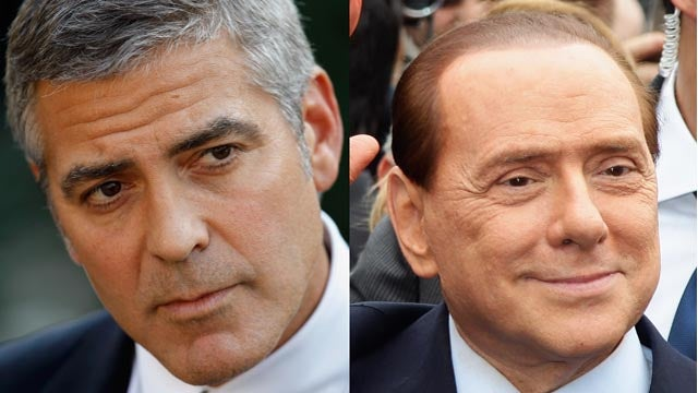 Berlusconi Defense Team Calls George Clooney As Witness