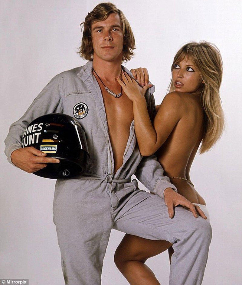 The best picture of James Hunt