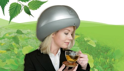 The Headtime Scalp Massager Relaxes You While Making You Look Like a Moron