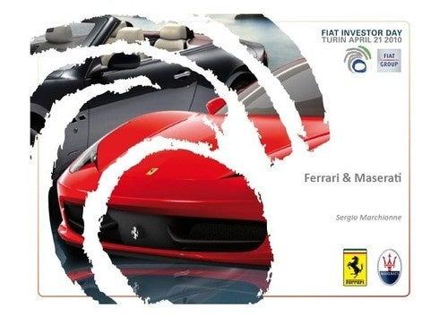 Ferrari/Maserati Product Plans