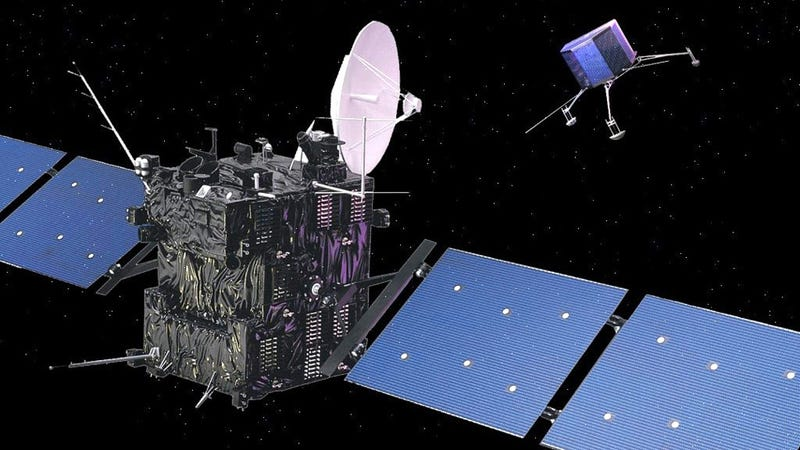 The Rosetta Spacecraft Is Humanity's First Asteroid Lander