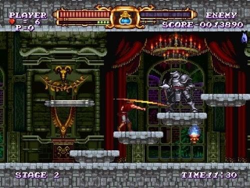 Have A Closer Look At Castlevania ReBirth