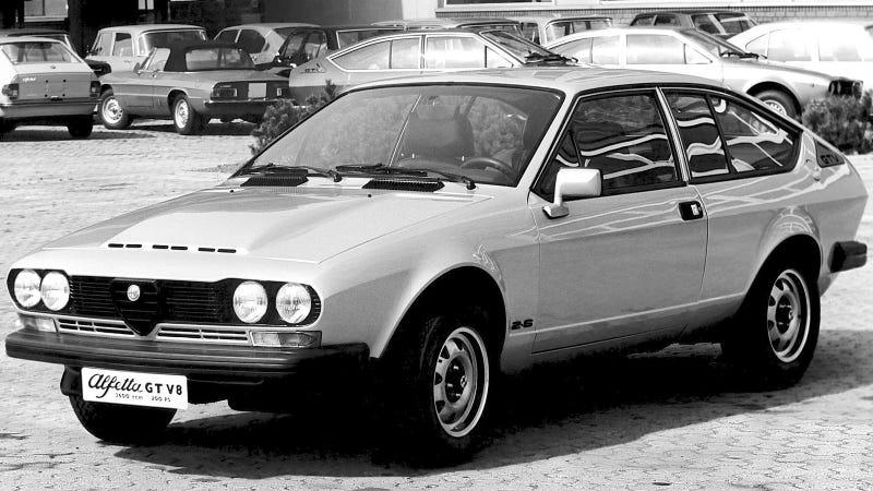 A Few Special Alfa Romeo GTVs Came With A V8