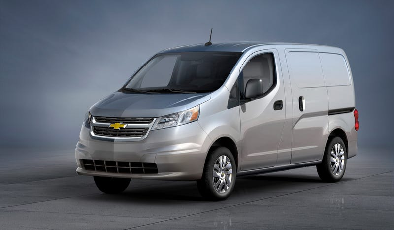 Chevy Can't Make Its Own Small Van And Will Use A Nissan Instead