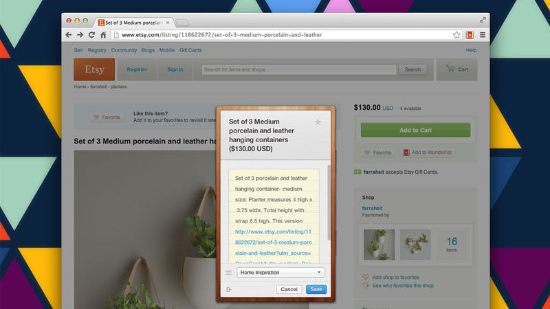 Add to Wunderlist Turns Web Pages into Tasks
