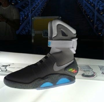 The Nike Air Mag—AKA the Back to the Future Shoes—Are Real, and They're Glorious