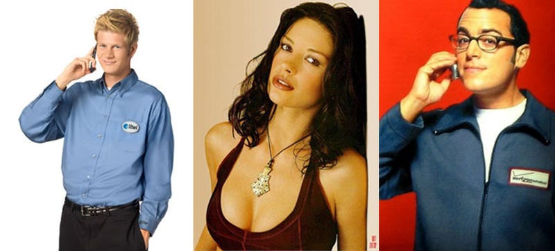 Zeta-Jones vs Chad vs Verizon Guy: Who is Your Favorite Spokesperson?
