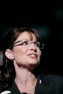 Sarah Palin Is Back To Stumping In Secondhand Styles