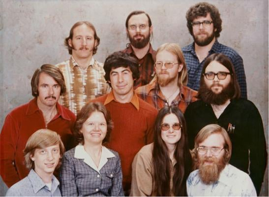What Happened to the People in Microsoft's Iconic 1978 Company Photo