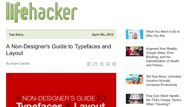 Subscribe to the Lifehacker Newsletter for Our Top Stories In Your Inbox Every Night