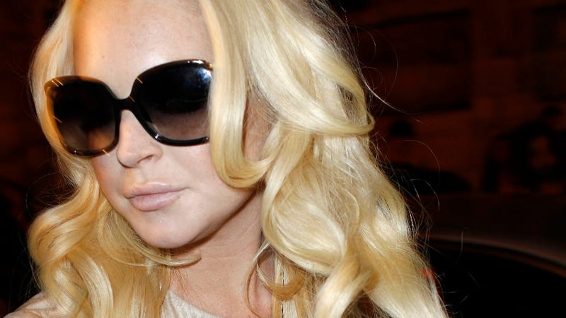 Lindsay Lohan's New Things: A Lawsuit, a Car, and a Fingernail