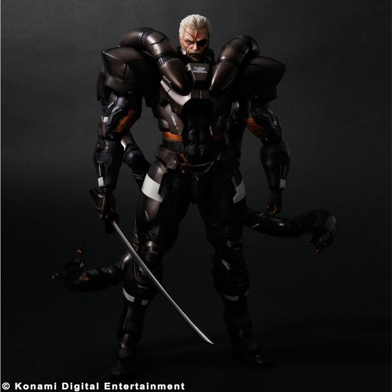 Get a Good Look at This Year's New Mass Effect, Hitman, Metal Gear & Devil May Cry Action Figures