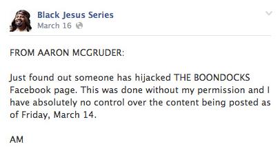 Final Season of The Boondocks Will Exclude Creator Aaron McGruder