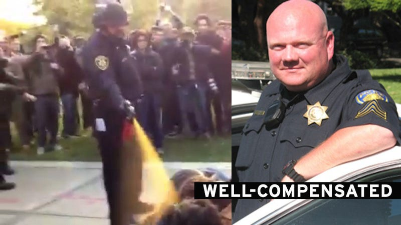 UC Davis Pepper Spray Cop Received $38,000 Workers Comp Settlement