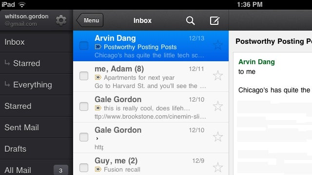 Gmail for iOS Updates, Adds Custom Signatures and Vacation Responders