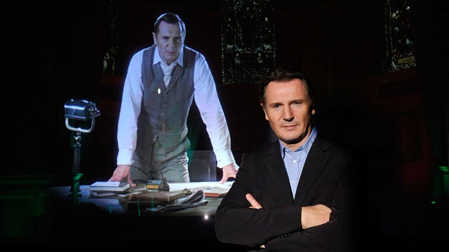 Liam Neeson and His Hologram Are Looking Twice As Nice
