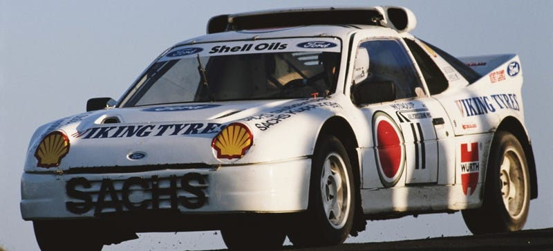 Take A Look Inside The Beast That Is The Ford RS200