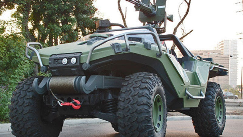Microsoft Has A New, Real Warthog To Drive Around In