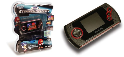 Revive Those Repressed Sega Genesis Memories With 16-bit Blaze Portable Game Player