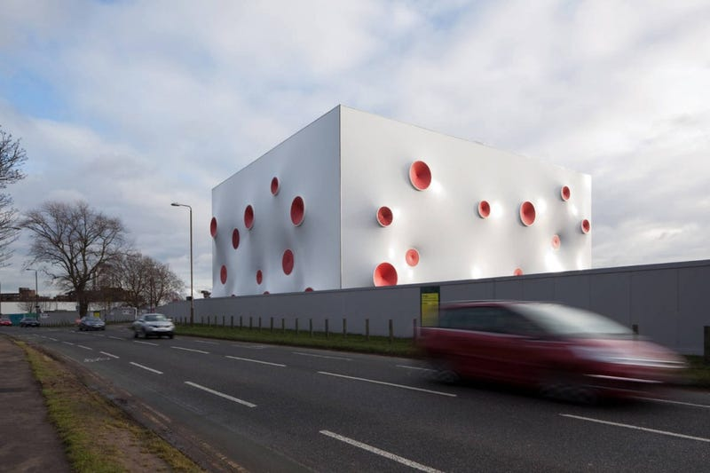 Technicolor Bullet Holes Make This the Perfect Home for Olympic Shooting