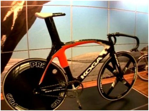 "Million Dollar Olympic Bicycle So Specialized ""No Ordinary Person Could Ride It"""