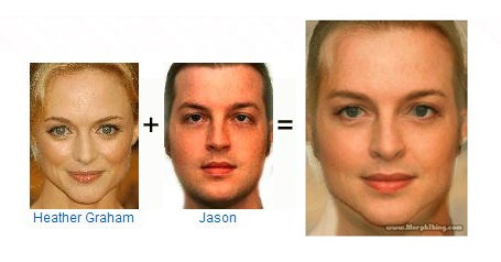 MorphThing Creates Celebrity Face Mashups