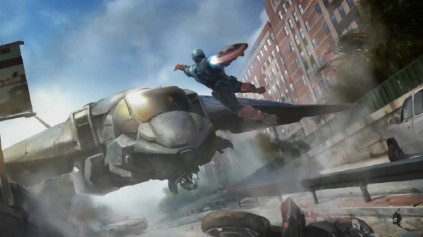 The Falcon joins the newest round of Marvel Phase Two movie concept art!