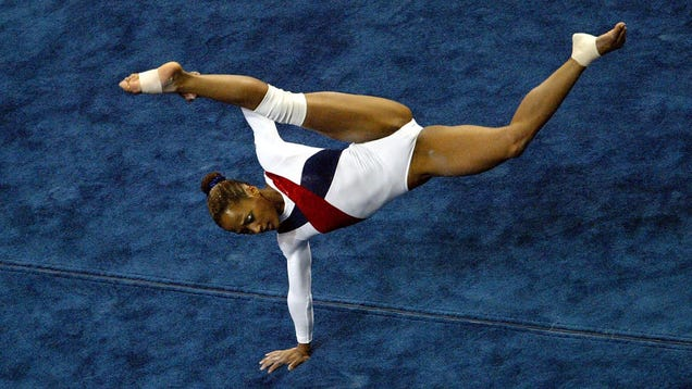 Ebony Gymnast 43