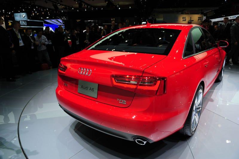 2012 Audi A6 Hybrid, 2012 Audi A6: Live Photos