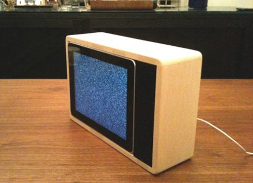 This Old-School TV Houses a Magical New Device