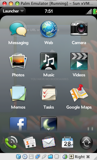 A Closer Look into Palm Pre's User Interface