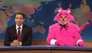 Seth Meyers's Gay 'SNL' Damage Control Interview