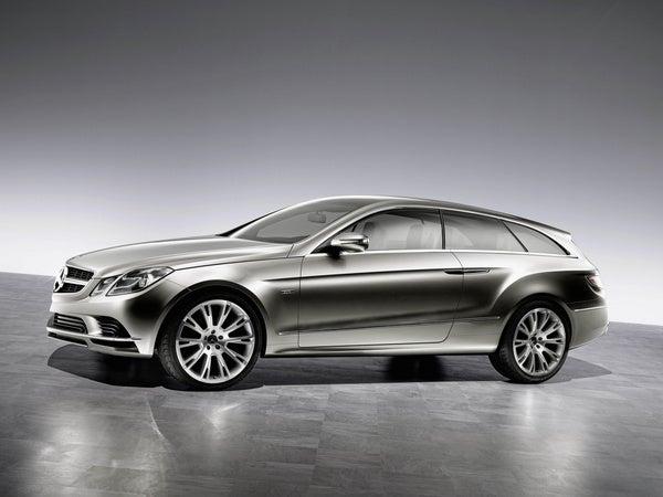 Mercedes ConceptFASCINATION Shows Off Fancy-Pants Interior In Paris