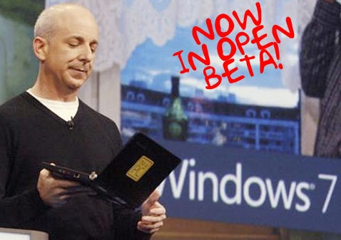 Windows 7 Open Beta: Why It Is (and Isn't) a Free Vista Upgrade