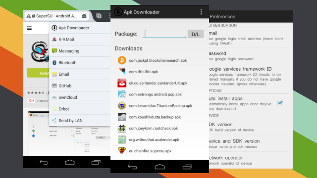 APK Downloader Extension Installs Restricted Apps Directly
