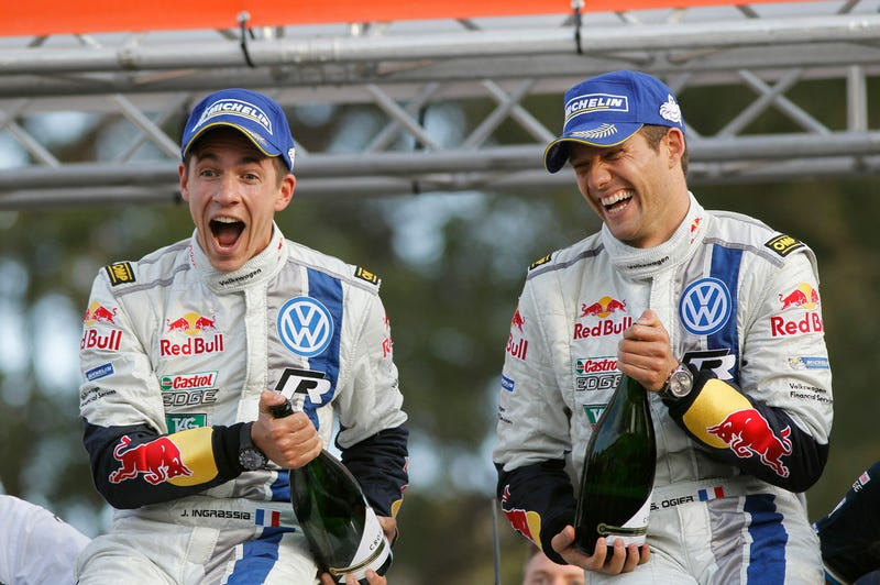 Sebastien Ogier and Julien Ingrassia are new World Rally Champions!