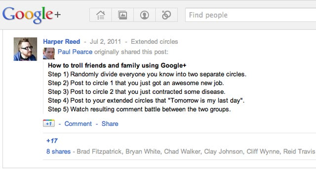 So What the Hell Are We Supposed to Put on Google+?