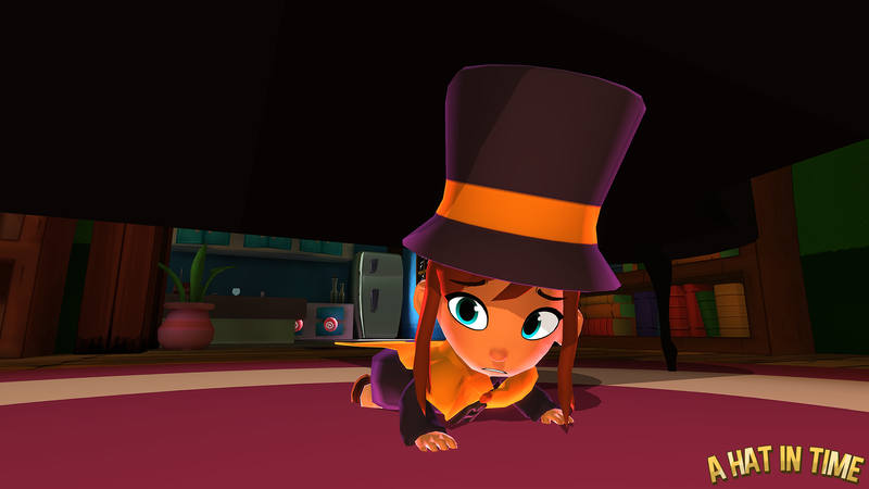 A Hat in Time - Vanessa's Mansion O_O