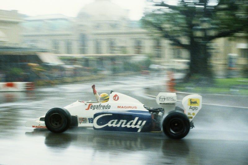 This Was Ayrton Senna's First Formula 1 Car