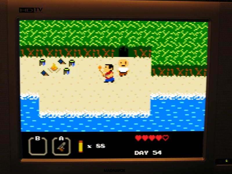 8-Bit Lost Game Looks Less Confusing