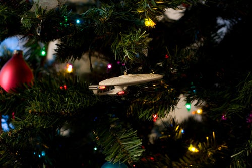 10 Of Your Nerdiest Holiday Decorations