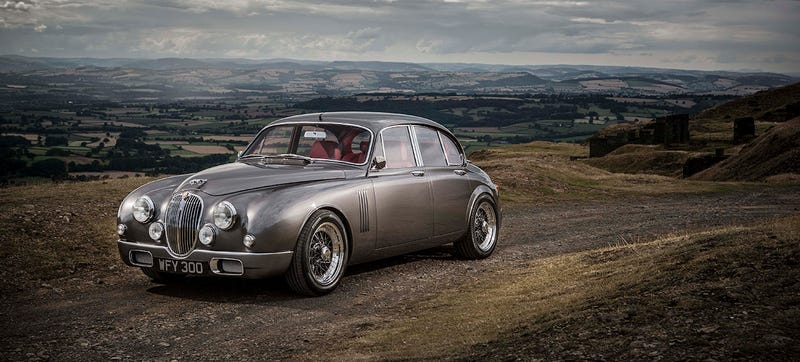 This Perfect Restomod Is Jaguar's Head Designer's New Car