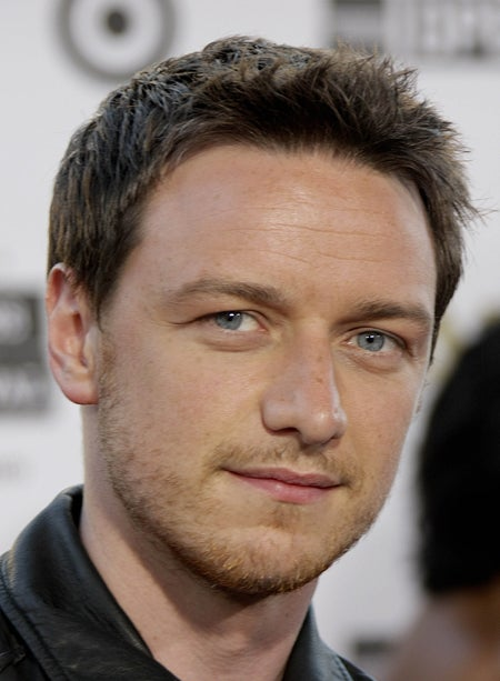James McAvoy Is Expressive