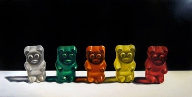 These Gummy Bears Are Actually a Painting