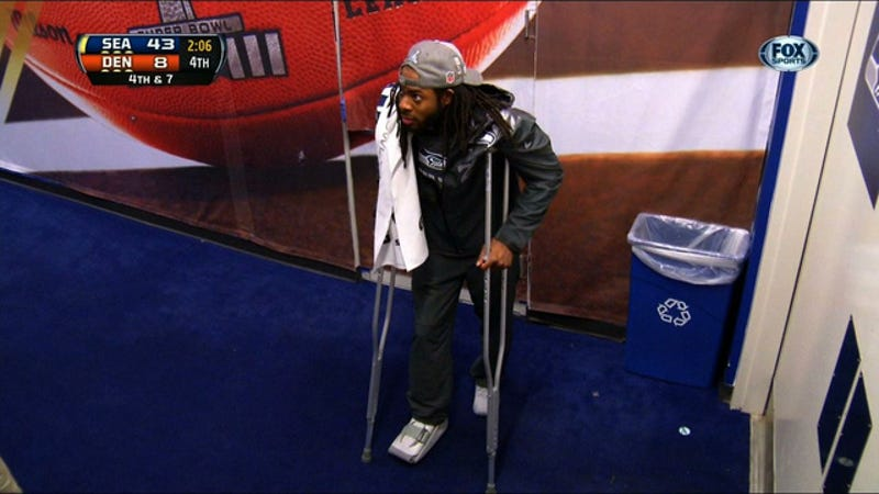 Super Bowl Champion Richard Sherman Injured By Karma