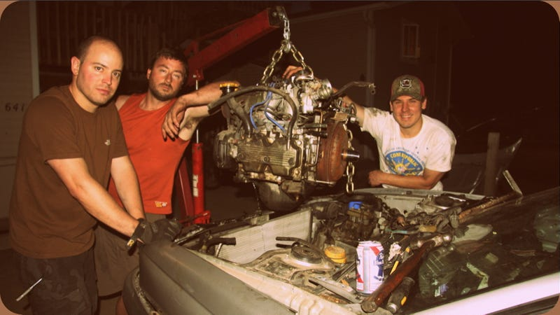 How To Make Pulling An Engine Fun