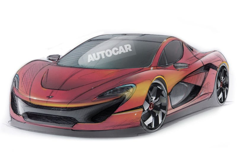 The P15 is Coming to Save the Less Fortunate: McLaren Themselves